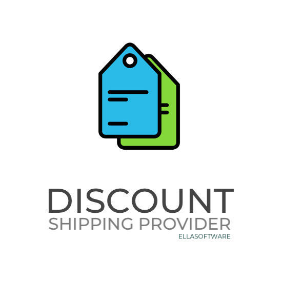 Picture of Discount by shipping provider (ellasoftware.com)