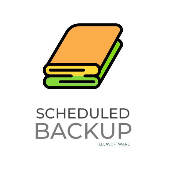 Picture of Scheduled Backup (ellasoftware.com)