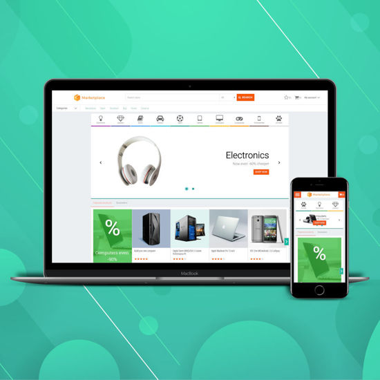 Picture of Marketplace theme (nop4you.com)