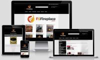 Online store of fireplaces, stoves and outdoor living rooms