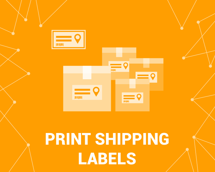 Picture of Print Shipping Labels (Avery, Zebra) (foxnetsoft.com)