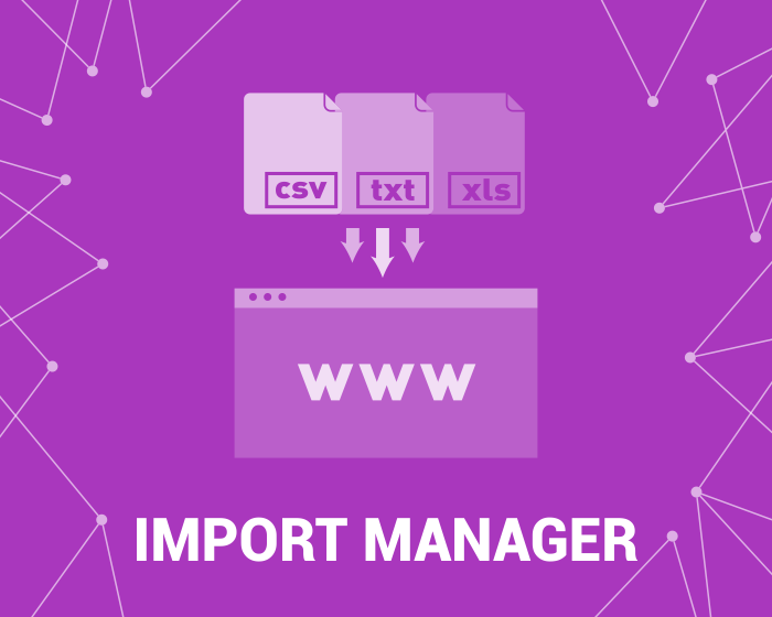 Picture of Import Manager 2.0 (foxnetsoft.com)