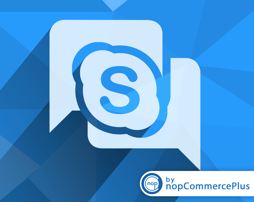 Picture of Skype live chat plugin for nopcommerce by nopcommerceplus