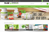 Herbalife and Filuet Group Online-Store for Members in Baltic Region