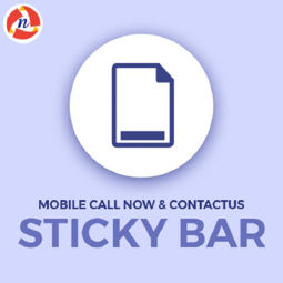 Picture of Mobile Call Now & Contact Us Sticky Bar