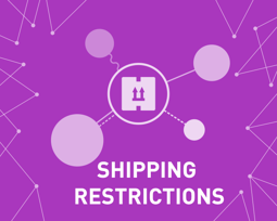 Picture of Shipping Restrictions (foxnetsoft.com)