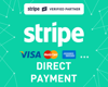 Picture of Stripe Direct Payment (3D Secure 2.0, SCA) (foxnetsoft)