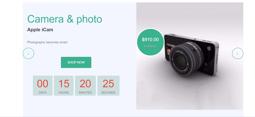 Picture of Multipurpose offer slider with countdown timer