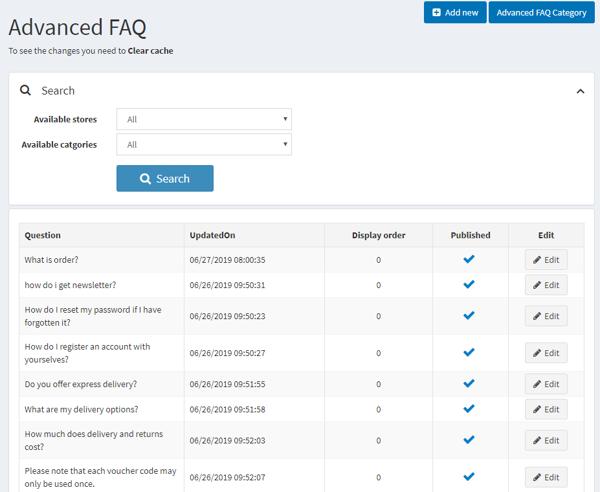 Advanced FAQ Plugin (nopplugin.com) の画像