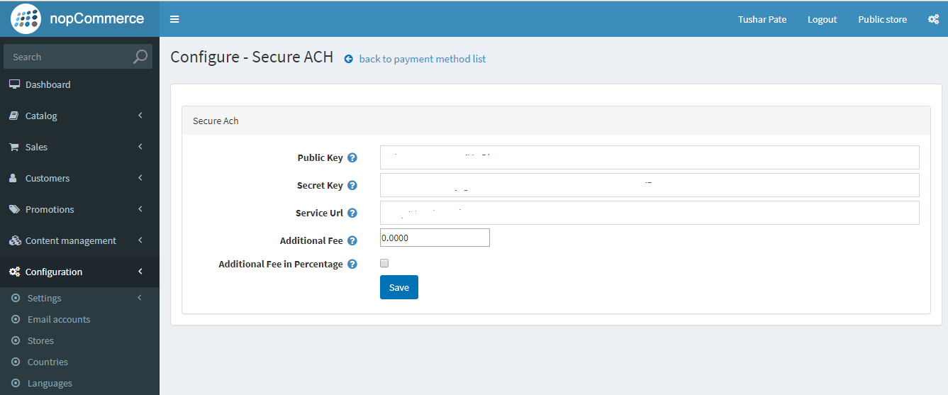 Picture of Execula - HeartLand Secure ACH/eCheck