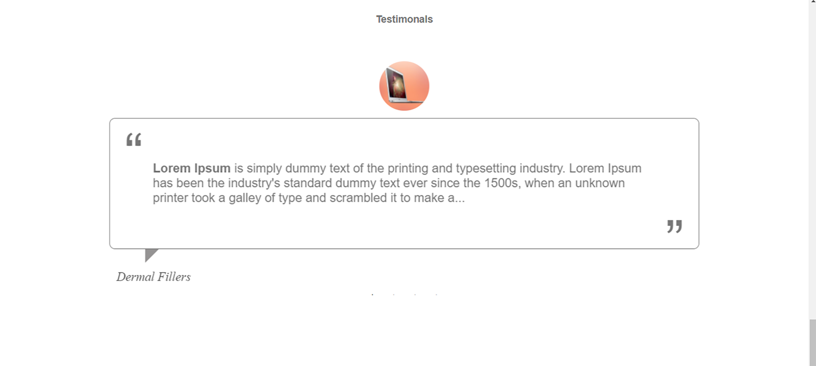 Picture of Testimonial Slider plugin (By nopCommercePlus)
