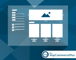Picture of Any Place Slider plugin for nopcommerce (by nopcommerceplus)
