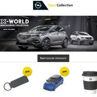 Opel Collection merchandising fanshop