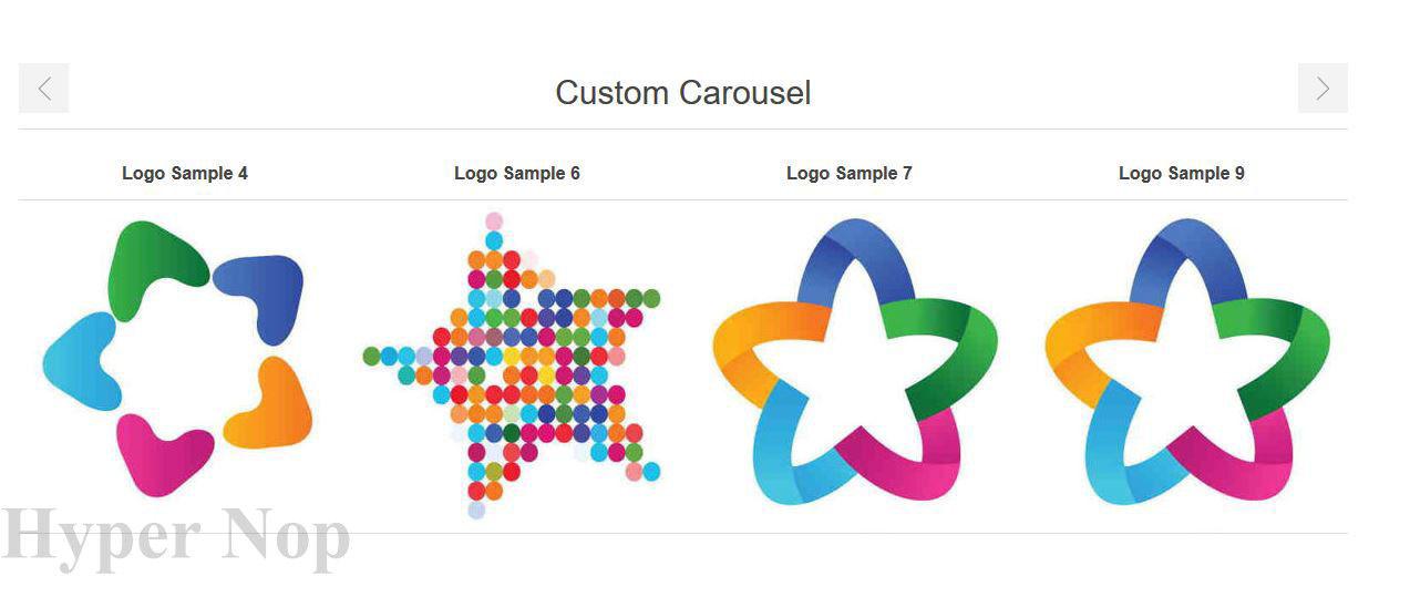 Изображение Custom Carousel Plugin (HyperNop.com)