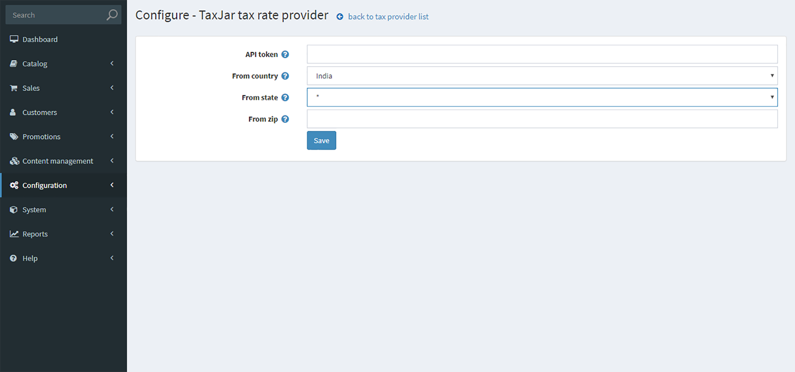 Picture of TaxJar - tax calculation plugin (By nopCommercePlus)