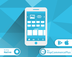 Picture of Customer Mobile App: Native (By nopCommercePlus)