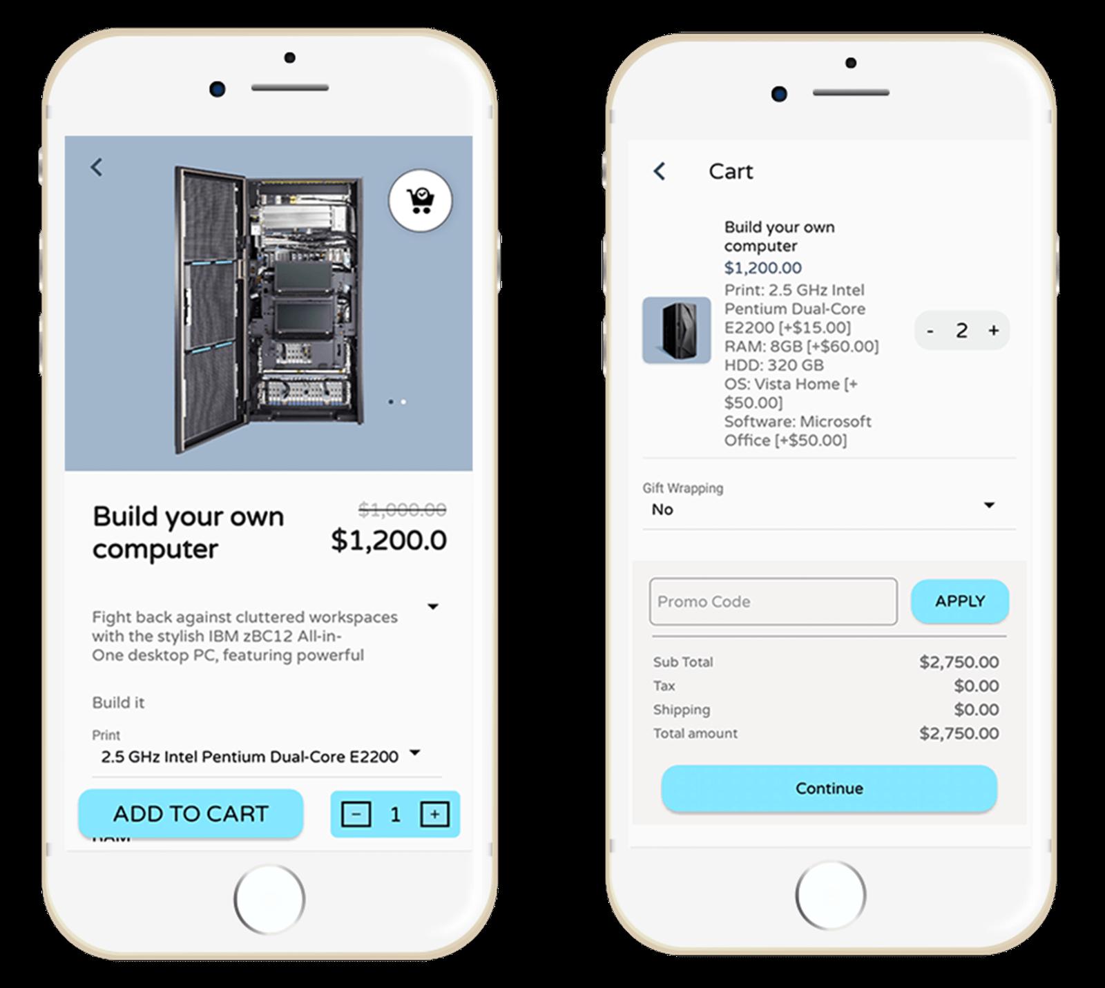 Imagen de Customer Mobile App: Native (By nopCommercePlus)