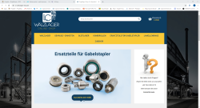 B2C Onlineshop for LC Wälzlager