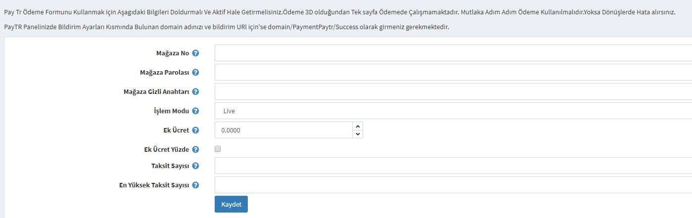 Picture of PayTr Türkiye Ödeme Eklentisi