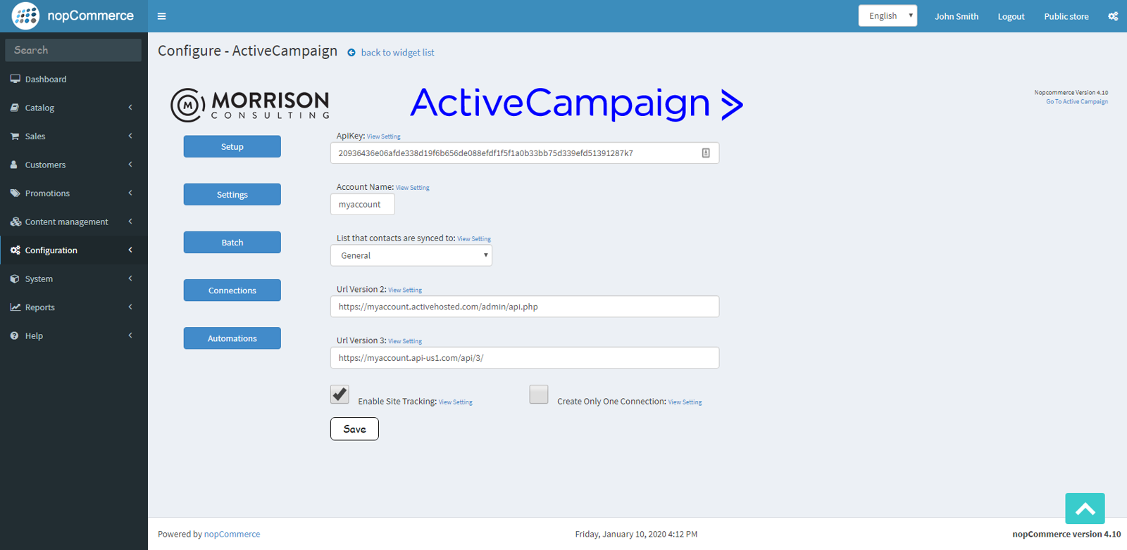 Picture of ActiveCampaign Deep Data Integration by MoCo