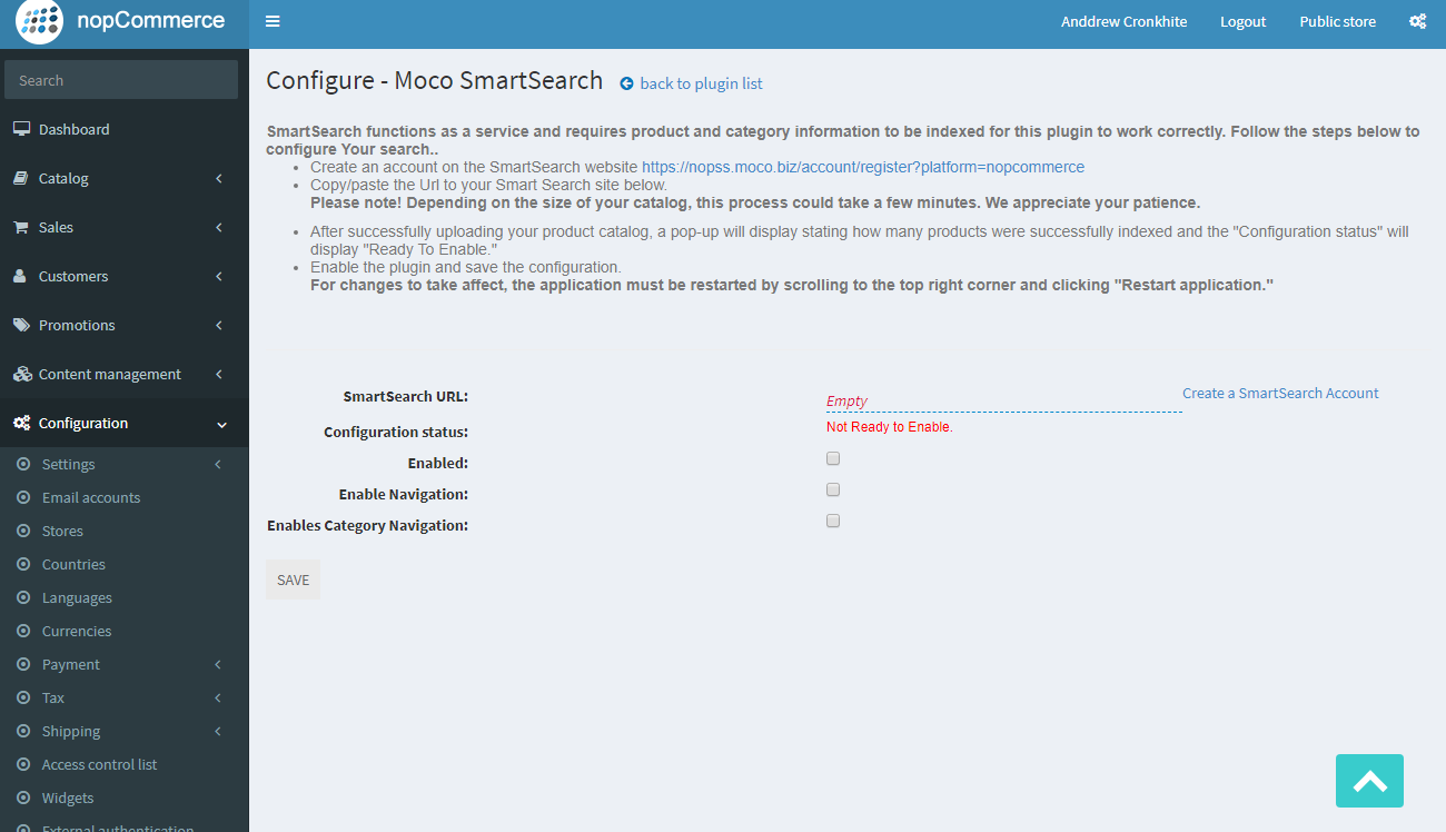 Picture of MoCo SmartSearch E-Commerce search extension