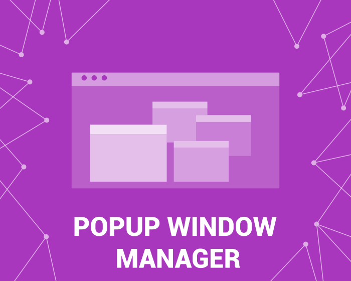 Imagen de Popup Manager (foxnetsoft.com)