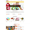 Picture of Toy Shop Theme + 2 Plugins (by nopExtensions.com)