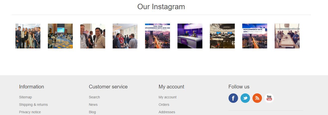 Instagram Feed Pro Widget (nop4you.com) の画像