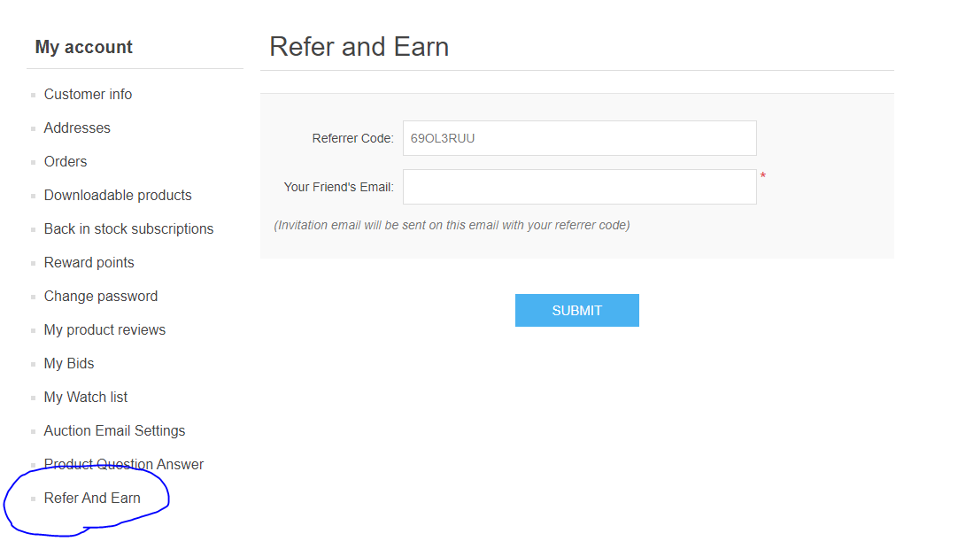 Picture of Refer And Earn Plugin