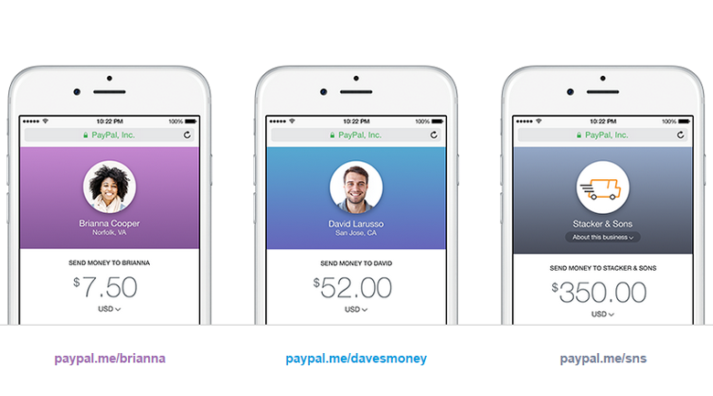 Picture of PayPal.Me payment method