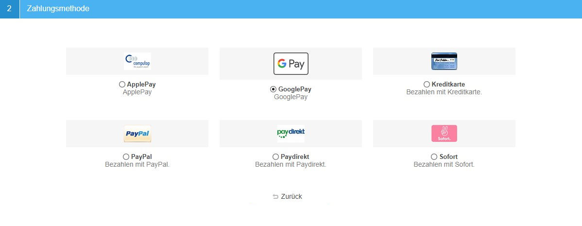 Picture of Computop Google Pay