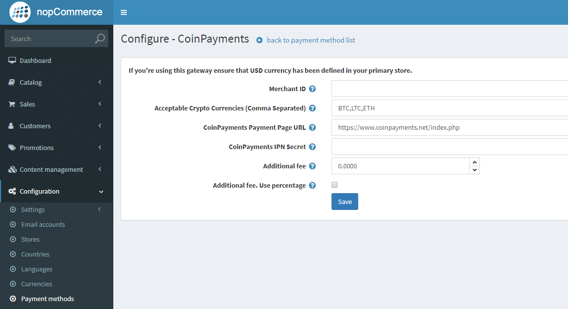 Изображение CoinPayments Payment Gateway