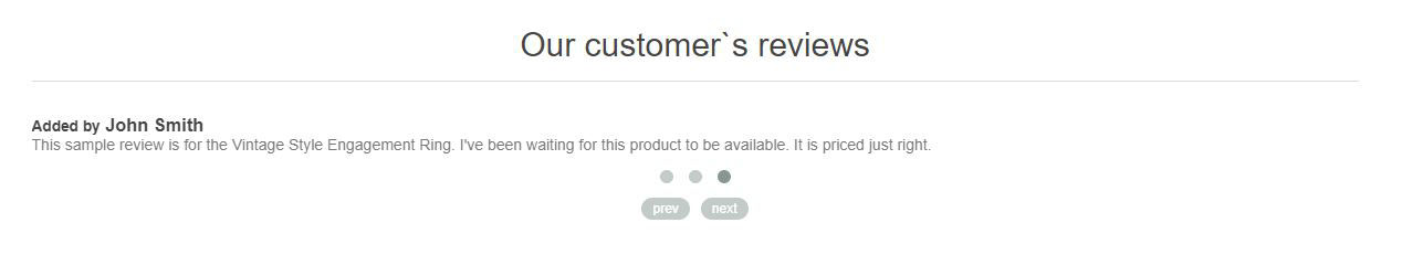 Picture of Review Slider Widget (nop4you.com)