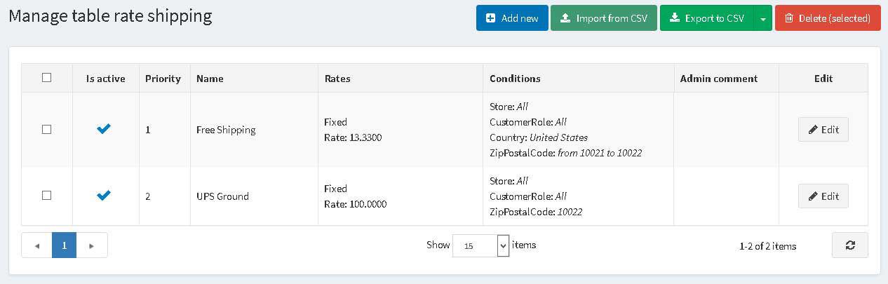 Image de Table Rate Shipping (foxnetsoft.com)