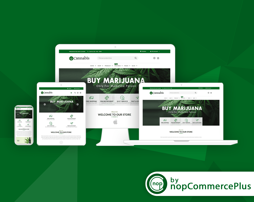 Picture of Cannabis Theme (By nopCommercePlus)