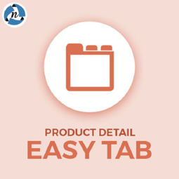Product detail easy tab plug-in の画像