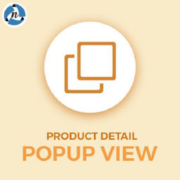 Product detail quick view popup の画像