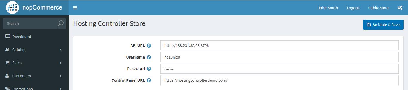 Hosting Controller の画像