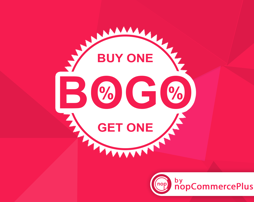 图片 BOGO - Buy One Get One Plugin (By nopCommercePlus)
