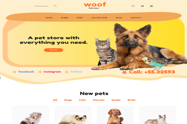 Woof - Pet store の画像
