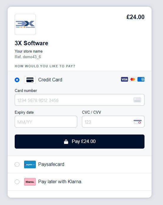 Изображение Adyen Redirect Payment Module