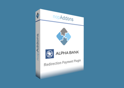 Picture of Alpha Bank Redirection Payment Plugin