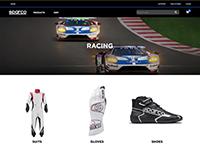 Sparco USA Web Site