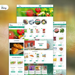 Imagem de Nop Berry theme, responsive + bundle plugins