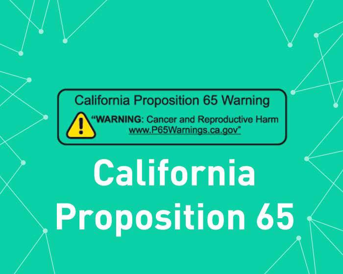 Imagen de California Proposition 65 (Geofence content) (foxnetsoft)