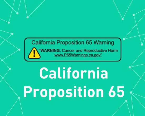 Picture of California Proposition 65 (Geofence content) (foxnetsoft)