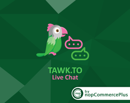 Picture of Tawk Live Chat plugin (By nopCommercePlus)