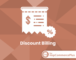 Discount on Billing Country plugin (By nopCommercePlus) の画像