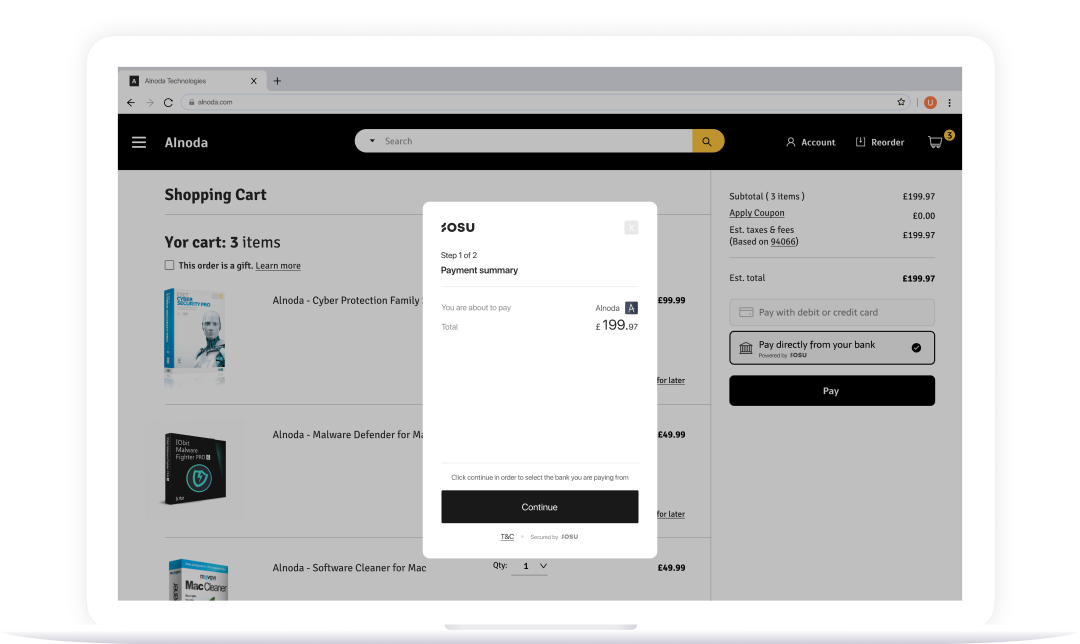 Picture of OSU payment module