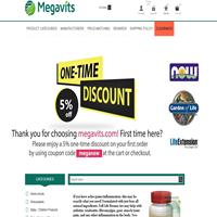 MegaVits online supplement store
